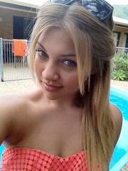 Perfectly sweet gentle female nude..