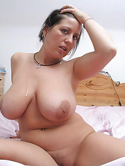 Mature dame with immense boob - Other