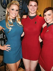 Star trek cosplay steaming consider,..