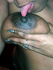 Some mature black chicks. They is very..