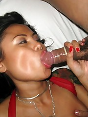 Asian whore with meaty pierced..
