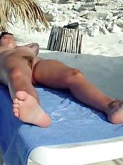 Nude mature girlfriends posing naked..