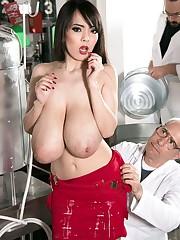 Asian pornstar Hitomi Tanaka is a..