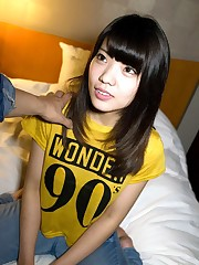 Little chinese sweetheart Mika Miyake..