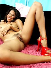 Ebony school tramps unveiling sexy..