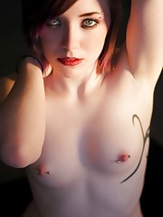 Ultra-cute youngsters with pierced nips..