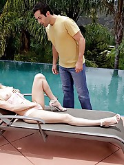Coincidence by the pool Elsa Jean..