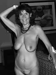 Some busty mature naturist and her sex..