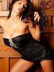 eyvalnet Denise Milani Black Dress 1