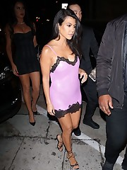 Kourtney Kardashian See Thru photos..