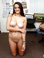 Lush naked model Tiffany Wells..