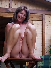 I photographed my mature neighbour nude..