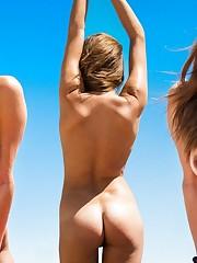 Alyssa Arce Bare - Playboy Counterpart..