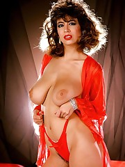Christy Canyon : vintage stockings..