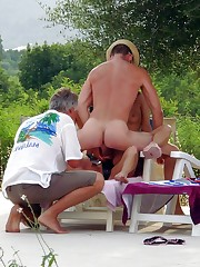 Mature swinger soiree in the summer camp
