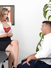 Lena Paul brings her subordinate Ramon..
