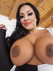 Kiara Mia's large titties and..