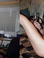 My dearest wives, nude pussy closeup