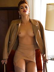 Britt Linn in Sexy Craving playboy..