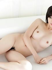 Adorable chinese honey Rie Sakura shows..