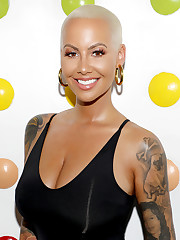 Amber Rose Looks Totally Different With..