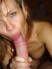 40 giving gargle jobs - Scorching porn