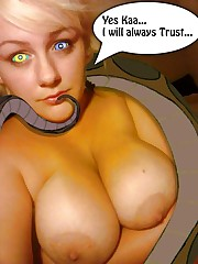 disney kaa slave snake the jungle book..