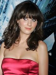 Film Actresses Zooey Deschanel pictures..