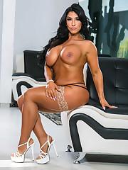 Gigantic boobies Luna Lain naked at..