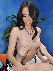Stunning Latina oral sex champ Sophia..