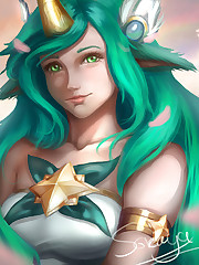 ArtStation - Starlet Guardian Soraka -..