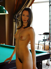 nude-in-russia's model with unshaved..