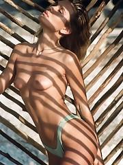 Tara Lynn nudejessica wall naked