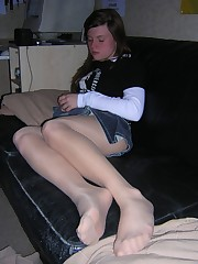 Voyeuy Jpg we love stockings candids