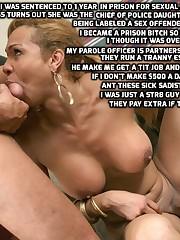 sissy coerced feminization blackmail..
