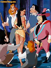 Pocahontas in disney porn