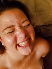 Humungous facial, huge cumshot, my man..