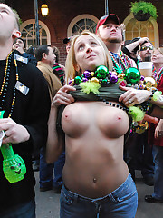 Best mardi gras knocker shots Porno image