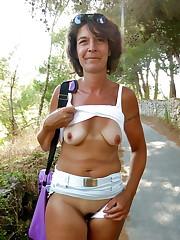 Grannies in underwear and underwear -..