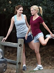Jenna Fischer and Angela Kinsey ...