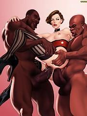 toons big black cock Hentai Online..
