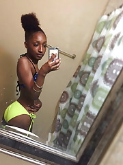 Ebony Teens 18 to 21 years  non-nude..