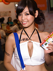 Japanese Beauty:  Promotional Models in..