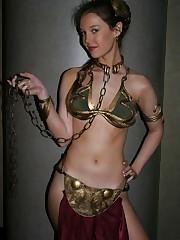 Princess Leia - Golden Bikini Costume..