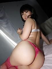 Super-naughty Japanese babe Akane Ozora..