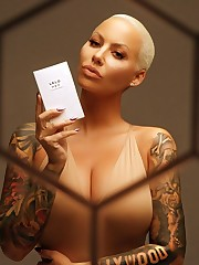 Amber Rose Nude & Super-sexy (Photos)..