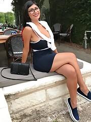 Amerykańska gwiazda porno Mia Khalifa,..