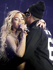 beyonce-jay-z- Beyonce and Jay-Z Hovah..