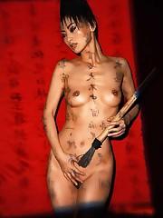 Vi ricordate di Bai Ling nel film IL..
