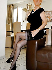 Grannies matures and milfs upskirt 77